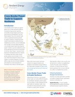 New fact sheet released: Cross-Border Power Trade to Support Resilience